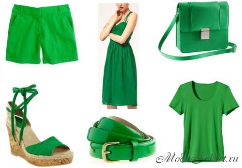 модные цвета летние 2014