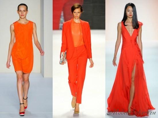 какие цвета модные летом 2014