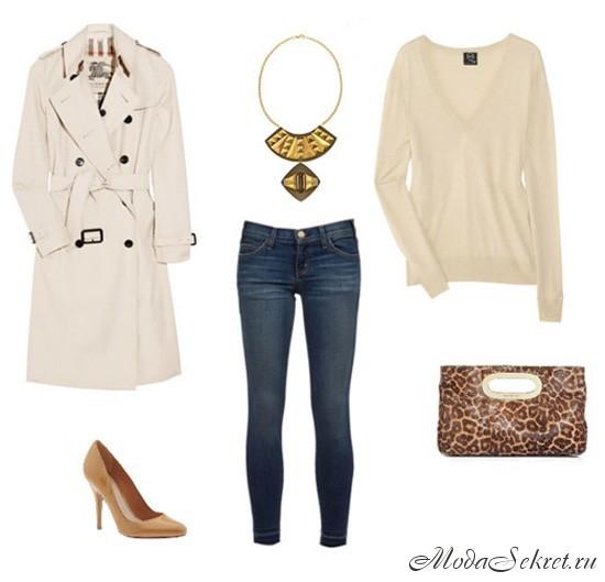 Как одеваться девушке осенью фото