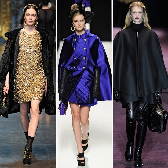 Слева направо: Dolce & Gabbana, Moschino, Gucci