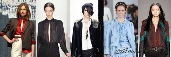 Модные блузки осень 2017