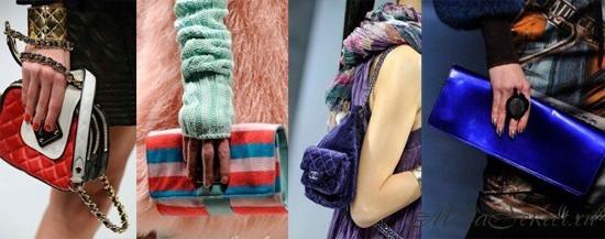 Модные сумки 2012-2013 - Moschino, Blugirl, Chanel, Gaultier