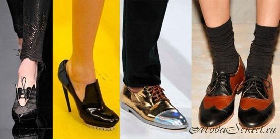 обувь осень зима 2012 2013