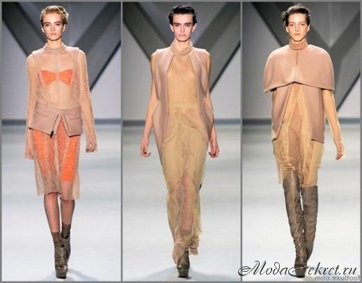 Модная одежда осень-зима 2017-2018