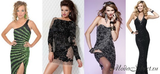 новогодние платья фото