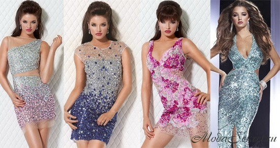 платья на новый год фото