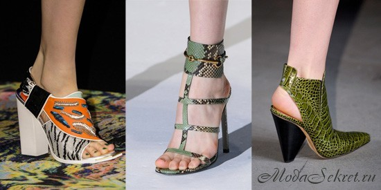какая обувь в моде весной этого года