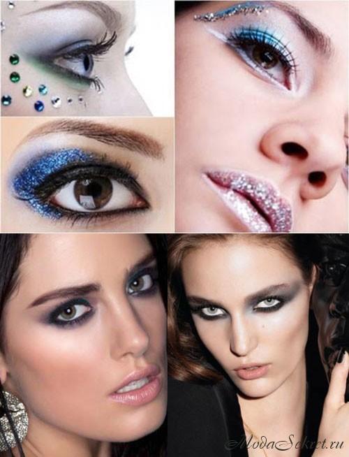 макияж на новый год фото