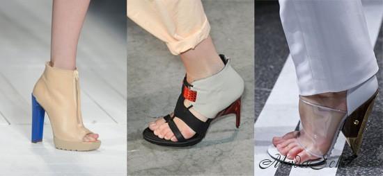обувь весна-лето этого года фото