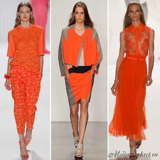 модные цвета весны этого года