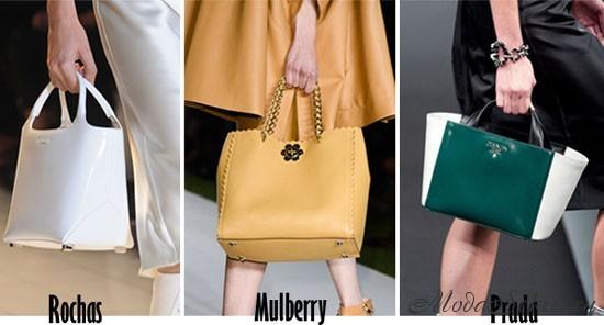 модные сумки весна-лето этого года