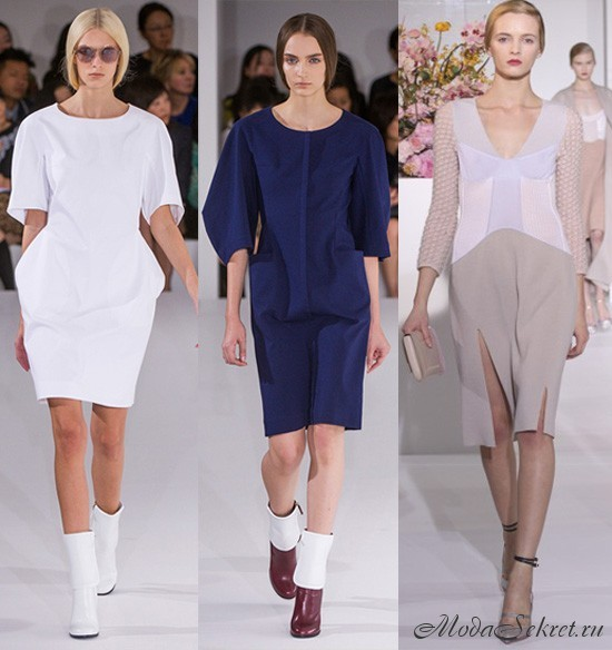 модные платья весна-лето этого года