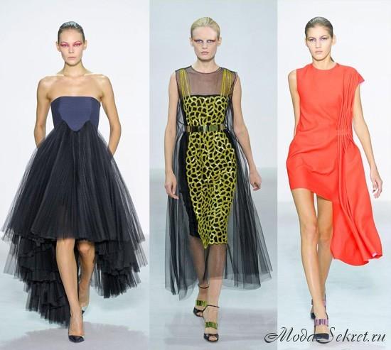 модные платья весна-лето этого года фото