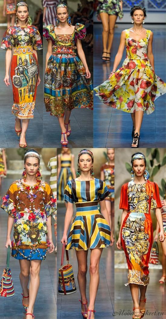 модные платья весна этого года
