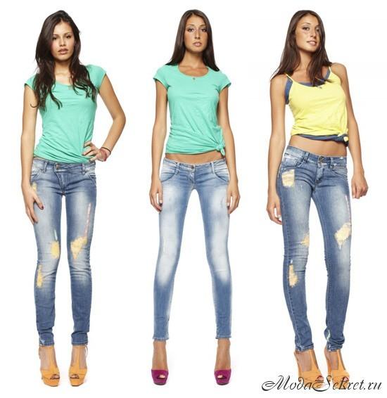 модные джинсы этого года фото