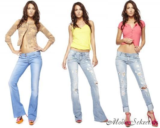 модные джинсы этого года