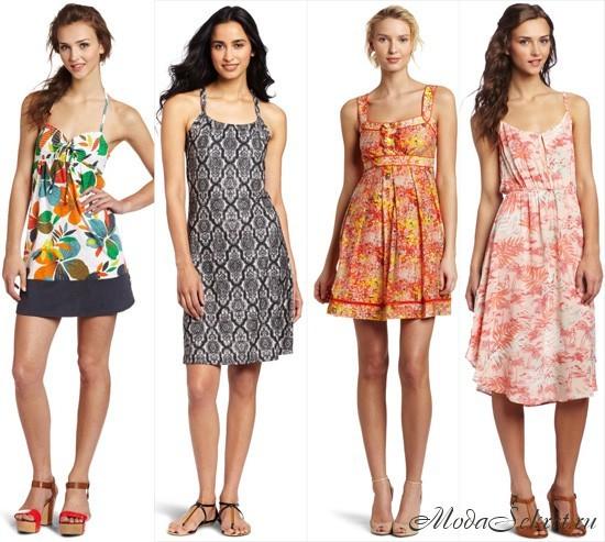 модные летние платья и сарафаны этого года