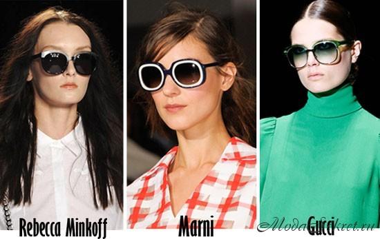 модные солнцезащитные очки этого года