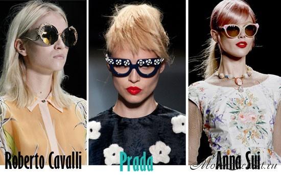модные солнечные очки этого года фото