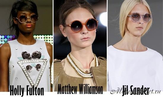 модные женские солнечные очки этого года