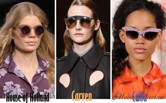 модные солнечные очки этого года