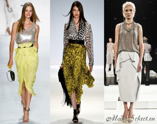 модные юбки этого года