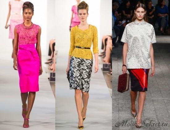 модные юбки весна этого года