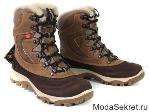ботинки ecco для зимы