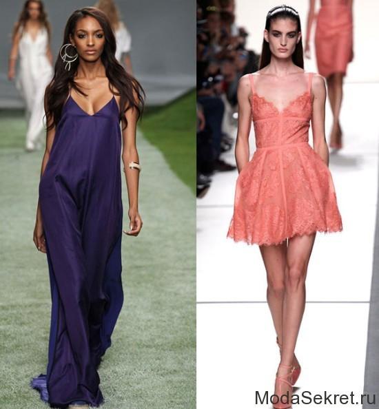 девушки в элегантных платьях