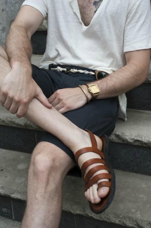 Правила ношения сандалий