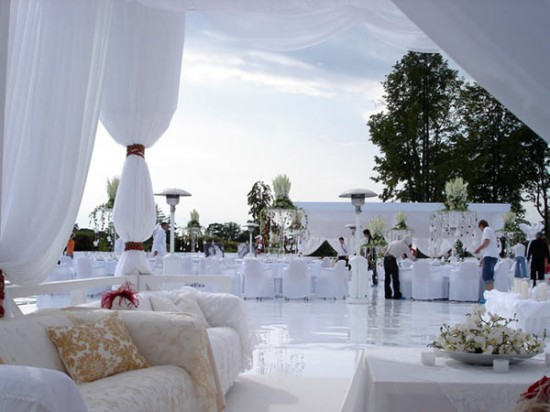 Различные места проведения свадеб
