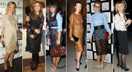 С чем носить кружевную юбку: необычные сочетания