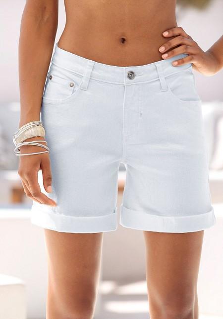 Белые шорты для любой фигуры