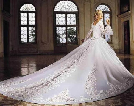 История свадебного платья