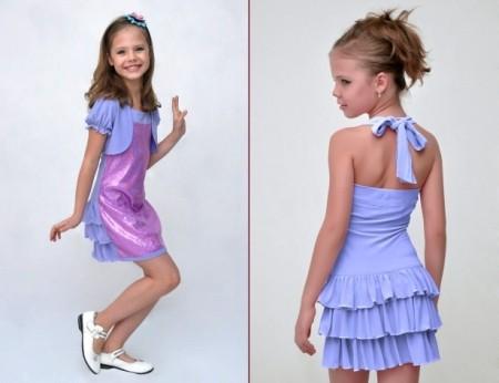 нарядного платья для ребенка