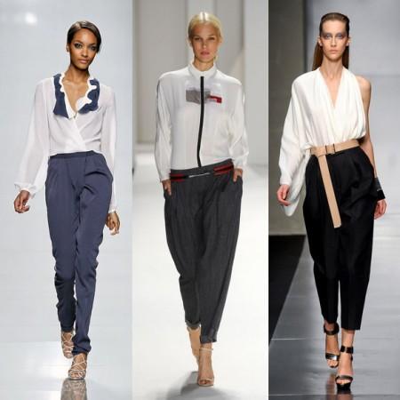 Примеры сочетания с черными брюками
