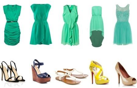 С чем надеть юбку зеленого цвета