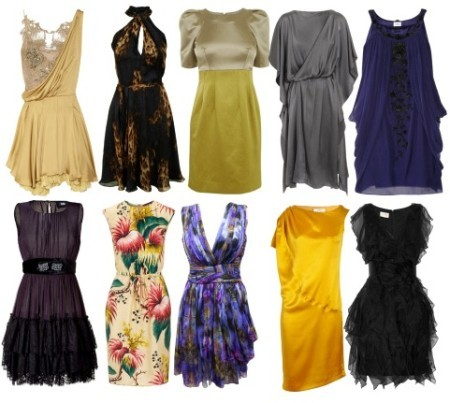 Шёлковые платья