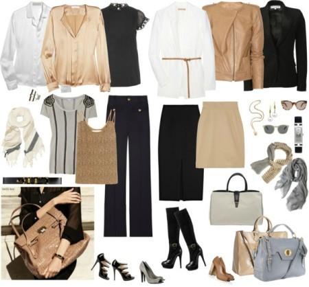 Главные правила ношения темных женских брюк