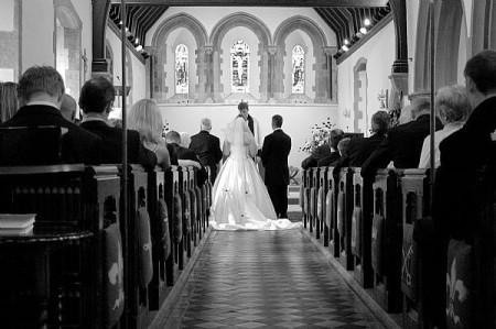 Свадьба в католической стране