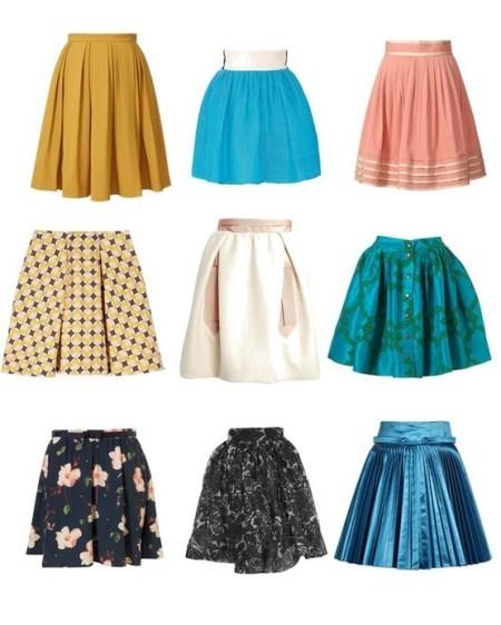 Какой может быть юбка-клеш?