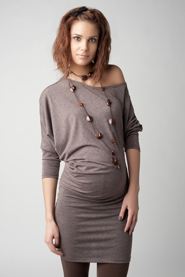 Трикотажные платья на беременных