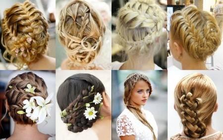 Прически для длинных и средних волос