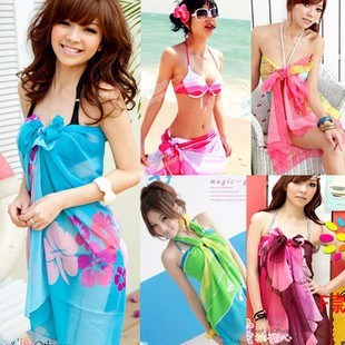 Пляжный платок