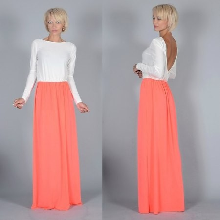 длинные платья с рукавами