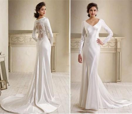 Свадебное платье средний рост