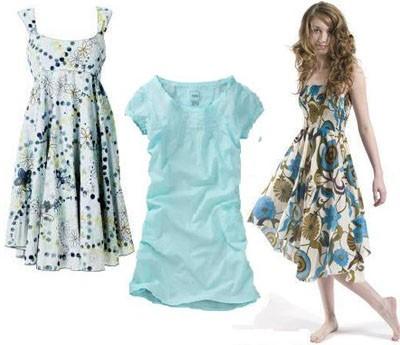Как сшить трикотажное летнее платье своими руками
