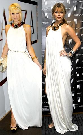 Греческое летнее вечернее платье из шифона