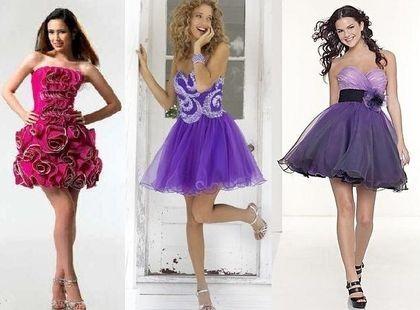 Всплеск красок выпускного платья