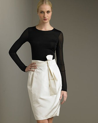 Популярные фасоны юбка тюльпан